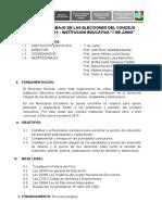 PLAN DE TRABAJO DE LA ELECCIÓN DEL CONSEJO ESCOLAR 2015.doc