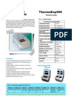 ThermoExp500 Thermocycler