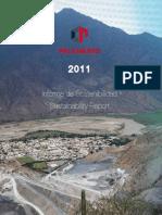 CPSSA Informe Sostenibilidad 2011