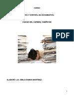 Manual de archivo y control documental