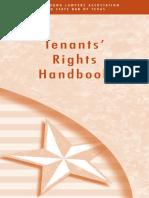 Tenants Rights Handbook