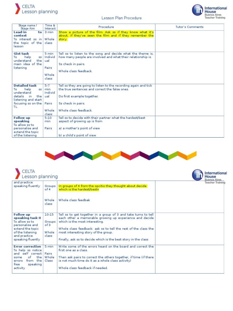 Lesson Plan Grid Weeks 2-4   Lesson Plan   Epistemology