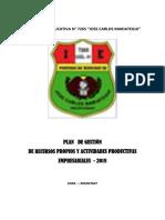 Plan de Recursos Propios 2018