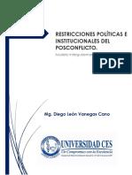 Restricciones Postconflicto - Diego León Vanegas
