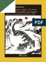El Poeta Que Rugió a La Luna y Se Convirtió en Tigre- Atsushi Nakajima