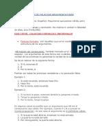 Apuntes Lista de Falacias Argumentativas