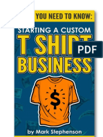 Starting a Custom t Shirt Business Guide