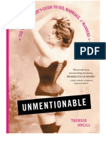 Unmentionable - The Victorian Lady's Guide to Sex, Marriage and Manners (2016)