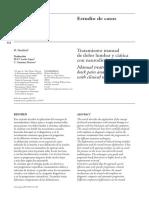 2006 Tratamiento Manual de Dolor Lumbar y Ciática Con Neurodinámica Clínica