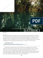 9.6 - Batismo