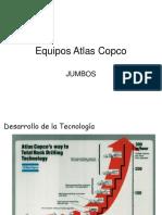 Equipos Atlas Copco Jumbos