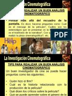 RECOMENDACIONES ANÁLISIS CINEMATOGRÁFICO