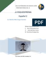 Actividad Integradora Español 2