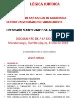 1) PRESENTACIÓN LÓGICA JURÍDICA DEFINICIONES 2018.pptx