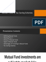 Mutual Funds & Tax Saving Schemes