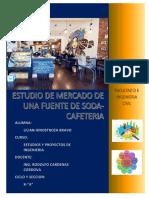 ESTUDIO de MERCADO Fuente de Soda-coffe