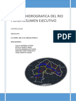 Resumen Ejecutivo Cuenca Piura