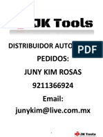 Catalogo JKTools Especializado 2018