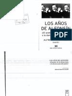 Aruguete, Lucha Politica y Conflicto de Clases en La Post Dictadura