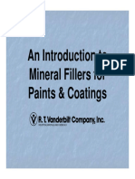 VANDERBILT-An Introduction to Mineral Fillers for Paints & Coatings