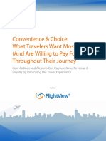 Convenience and Choice in Travel July2015
