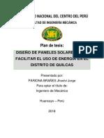 Diseño de Paneles Solares