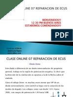 Clase Online 07 Reparacion de Ecus