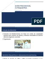 Clase Niveles de Atención Psicosocial y Prevención en Psiquiatría