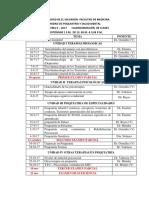 Cronograma de Temas Psiquiatria II 2017