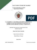 ]Universidad Complutense de Madrid La Madera y Materiales Derivado