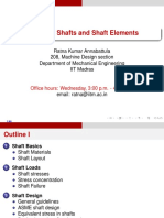 Shaft Design - IITM
