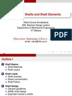 Shaft Design - IITM