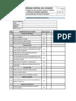 Parámetros Para Evaluación Proyecto