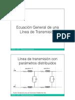 04-Ecuación General de Una Línea de Transmisión