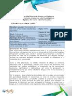Syllabus Del Curso Catedra Unadista