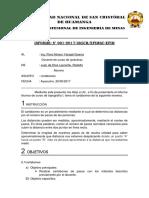 Universidad Nacional de San Cristóbal de Huamanga Topografia