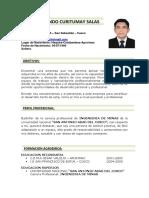 Cv - Pavel Curitumay Salas