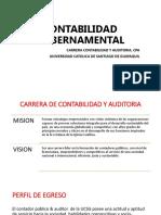 Contabilidad Gubernamental - Unidad 1