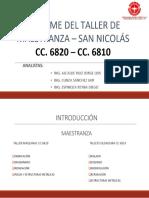 Informe Taller Maestranza3