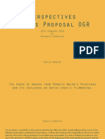 Thesis Proposal OGR