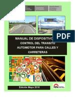 MANUAL DE NORMAS DE SEÑALIZACION TRANSITO.pdf