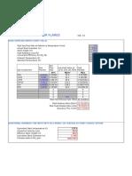Flare Calc Sheet