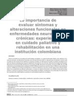 La importancia de evaluar síntomas y alteraciones funcionales en enfermedades neurológicas crónicas