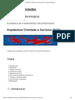Arquitectura Orientada a Servicios (SOA) _ Tecnologías Emergentes