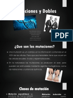 Mutaciones y Dobles