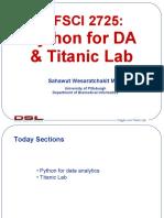 L06 DA Python & Titanic Lab