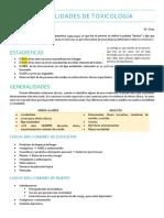 Generalidades de Toxicología
