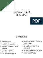 MOISES Cuarto Nivel AEA III Leccion
