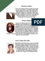 Proceres de La Independencia de Guatemala