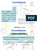 Circunferência 3 - Ângulos ExcÊntricos e Polígonos